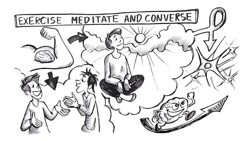 Exercise Meditate Converse - Sprouts Study Skills