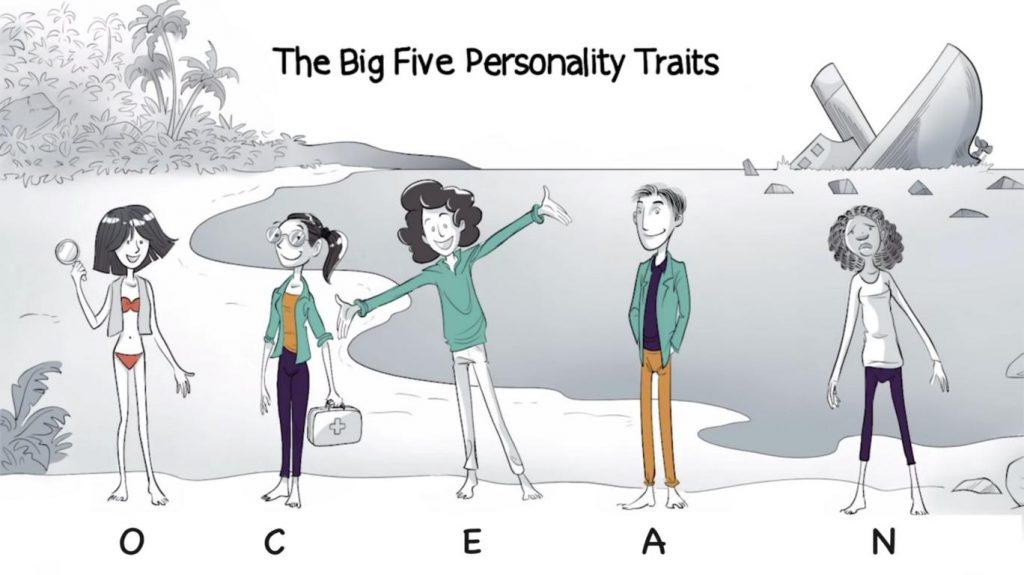 big 5 personality traits