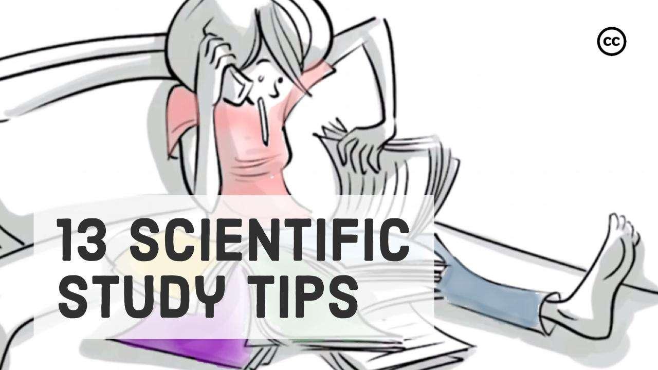 13 Scientific Study Tips